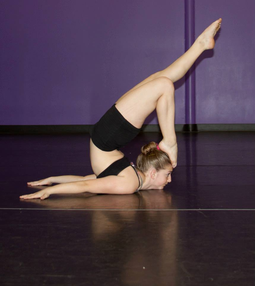 Haliee Fitch - dance position
